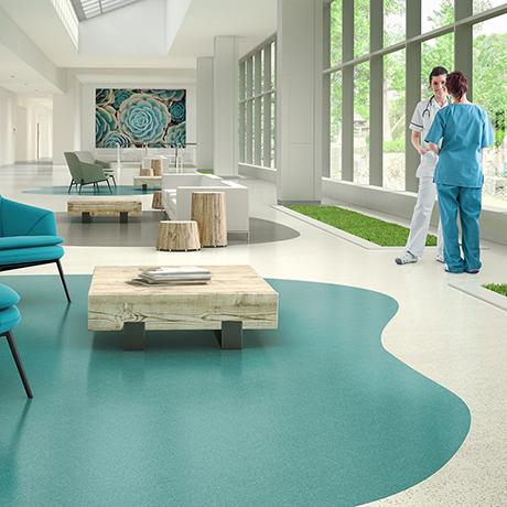 Texas Granite American Biltrite (Canada) Ltd. solid vinyl tile flooring.