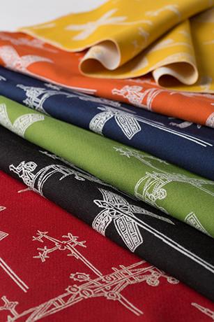 Mayer Fabrics' Vollis Simpson Collection Sunbrella Contract fabrics