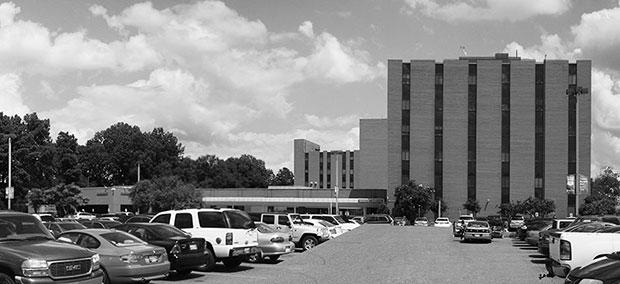 Façade Does Double Duty At Methodist South Hospital