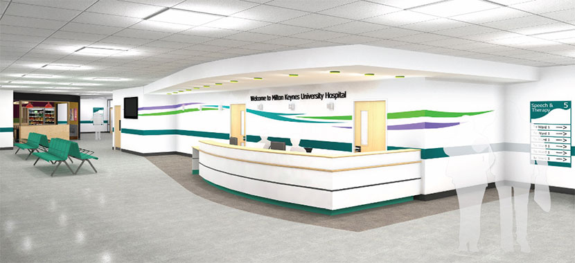 New Main Entrance To Open At Milton Keynes University Hospital