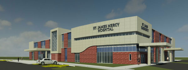 CON Application Approved For New St. James Mercy Hospital