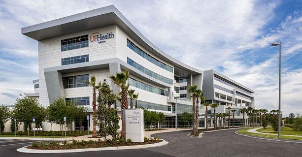 UF Health North Patient Tower Complete
