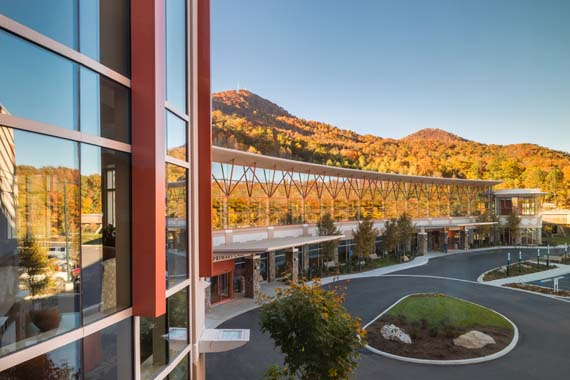 Natural Beauty: Cherokee Indian Hospital
