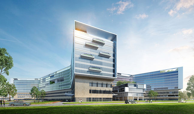 FIRST LOOK: Nantong People's Hospital