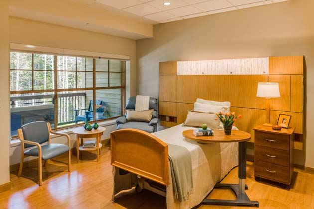 PHOTO TOUR: The Jack Byrne Center For Palliative And Hospice Care